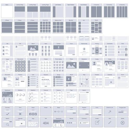 Guide d'utilisation de la maquette grise