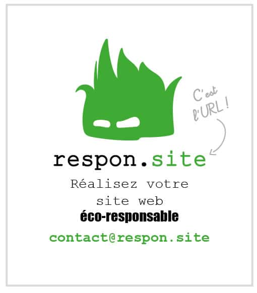 Sites web écoresponsables